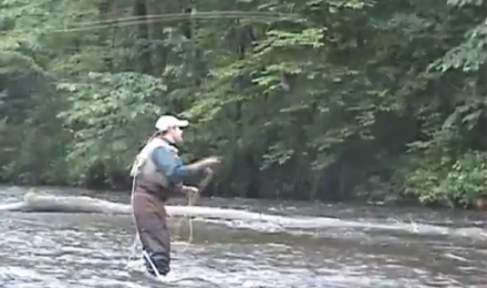 More Fly Fishing With Papa Bear, June 2010