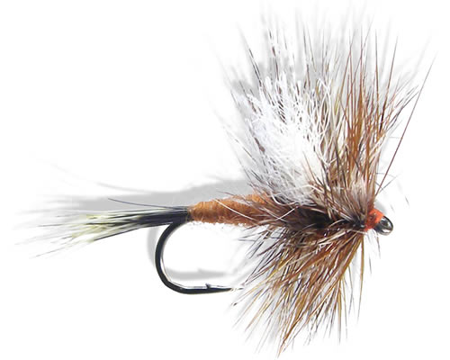 How to tie ausable wulff fly