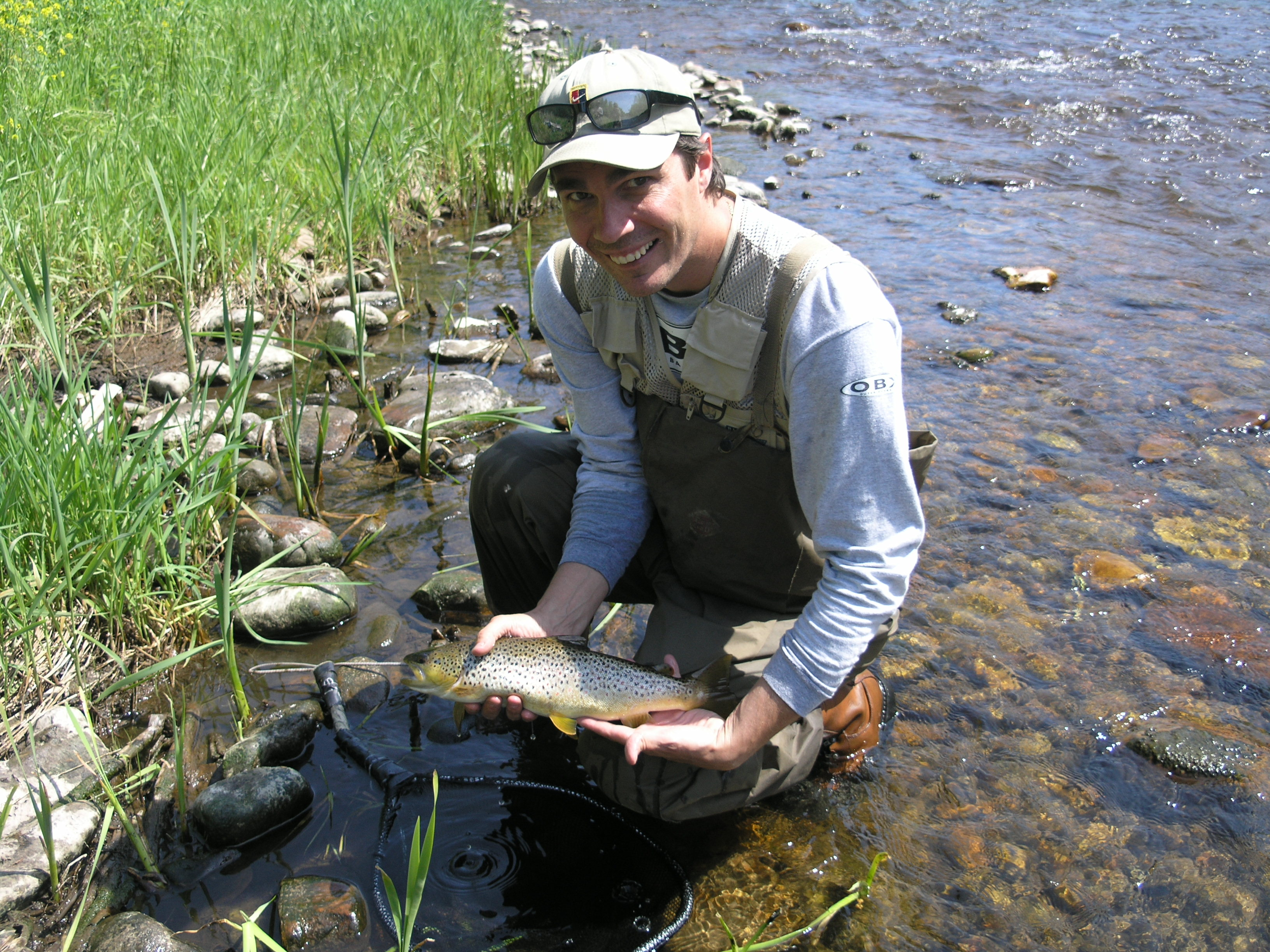 Ny fishing reports may adirondack fly fishing update for Trouts fly fishing reports