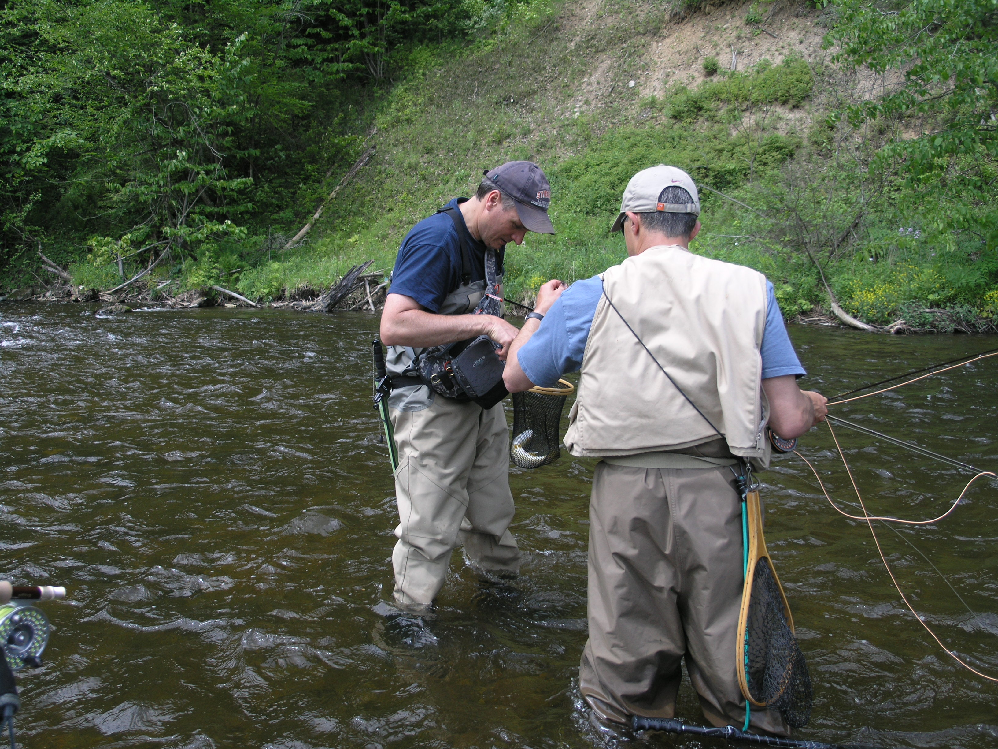 A memorable memorial day fly fishing in the adirondacks for Adirondack fly fishing